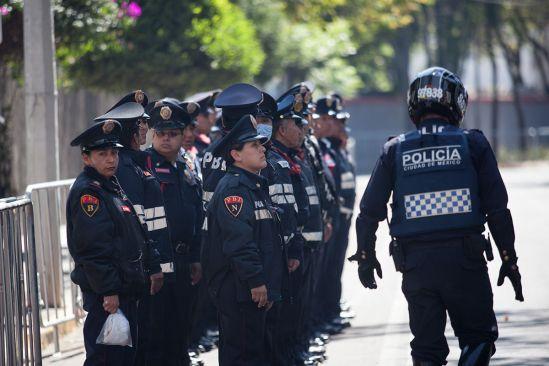 Despliega ciudad de México 3 mil policías por marchas este Día del Trabajo