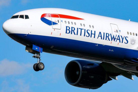British Airways cancela todos sus vuelos desde Londres