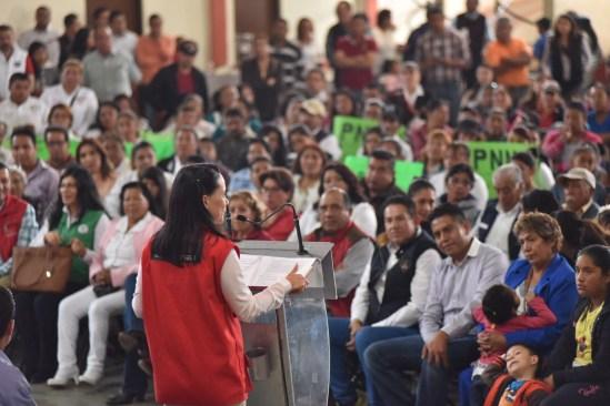 Alfredo Del Mazo es el candidato mejor preparado para gobernar: Alejandra Del Moral