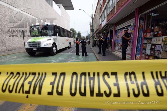 Atropella camión de RedTP a mujer en centro de Toluca