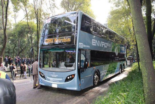 Llegarán primeras unidades de dos pisos para la Línea 7 del Metrobús