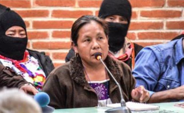 Candidata indígena a la Presidenciales de México en 2018