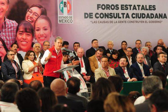 Alfredo Del Mazo ofrece crecimiento económico de la entidad al 5% anual