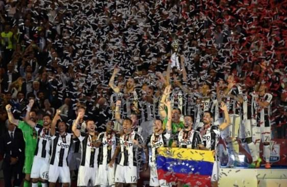 Imparable Juventus campeón de la Serie A