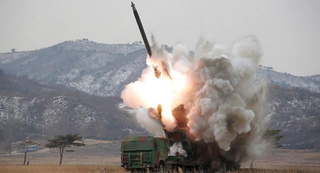 Nuevo lanzamiento de misil, presume Corea del Norte