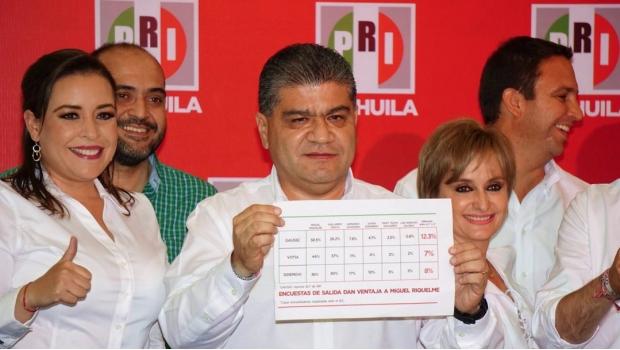 Cómputos confirman victoria de Miguel Riquelme en Coahuila