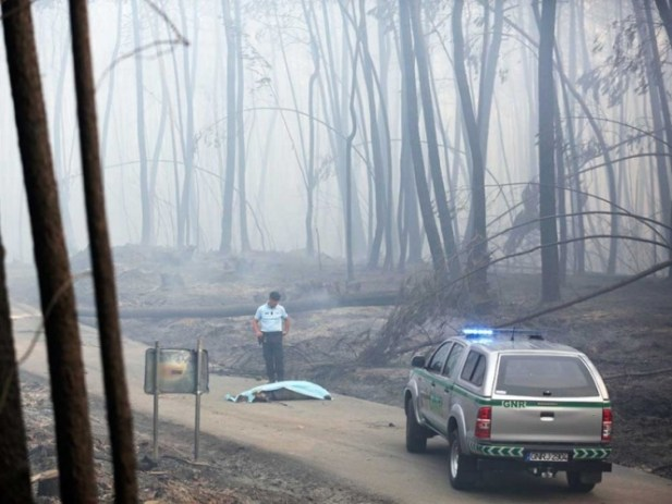 Portugal declara 3 días de luto por las 62 víctimas de incendio