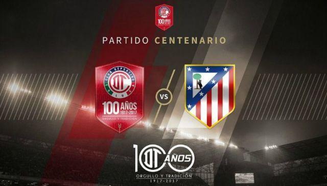 Toluca presenta fecha para el juego contra el Atlético de Madrid