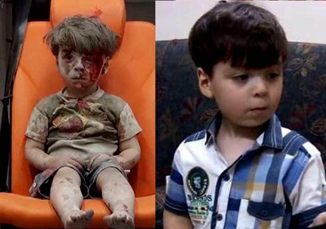 Un año después el niño sirio que conmovió al mundo