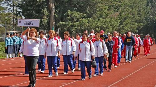 Encuentro Deportivo y Cultural 2017 de la Unión de Pensionados y Pensionistas del ISSEMYM