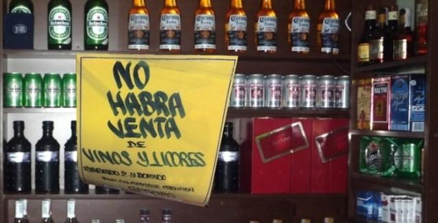 Ley Seca este sábado y domingo en el Estado de México