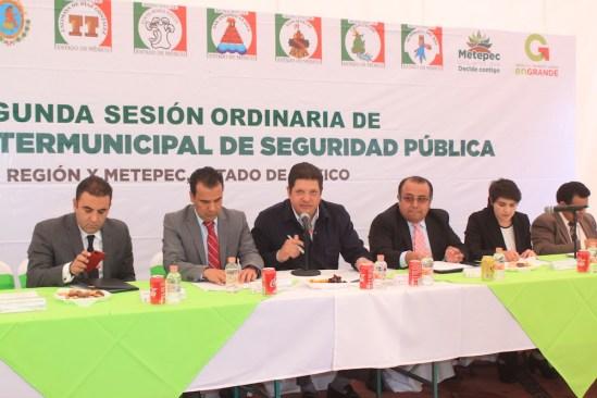 Destaca David López acuerdo intermunicipal en materia de seguridad pública