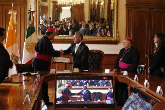 México es un tesoro: Monseñor Franco Coppola, nuncio apostólico del Vaticano en México