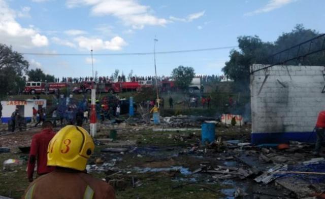 Reportan explosión en polvorín de Zumpango, Edomex