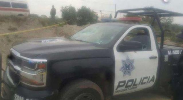Policía municipal de Xonacatlán es emboscado
