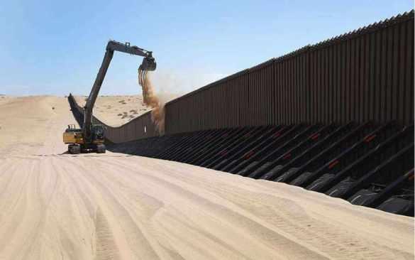 Buscan iniciar muro de Trump en marzo o abril de 2018