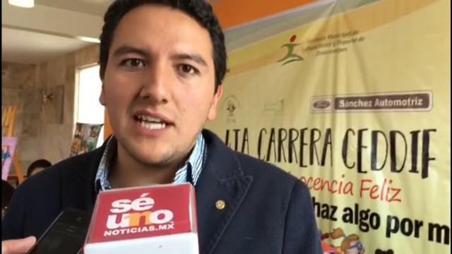 Carrera atlética en Zinacantepec para beneficiar a personas con discapacidad