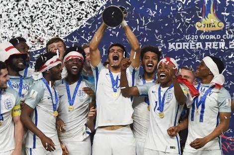 Inglaterra es campeón Sub-20