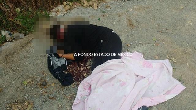 Matan a una joven con los ojos vendados y casco de motociclista en Edomex