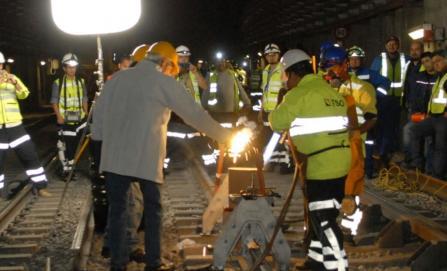 Muere trabajador durante mantenimiento de Línea 12