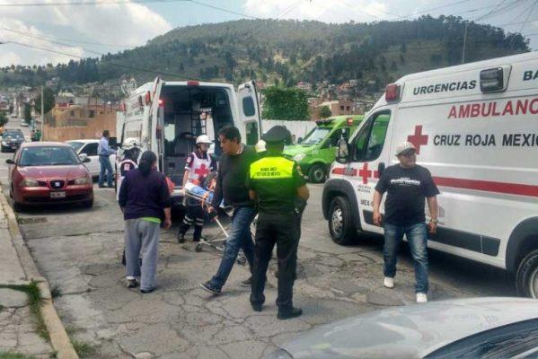 Navajean a tres en San Mateo Oxtotitlán, Toluca