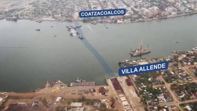 Abren túnel sumergido, en Veracruz luego de 13 años de obras