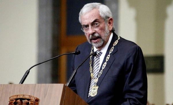 Rector de la UNAM pidió a universidades estadounidenses seguir apoyando a México