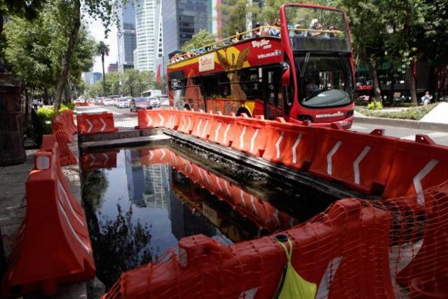 Suspenden la construcción de la Línea 7 del Metrobús