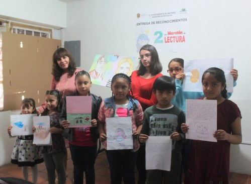 Metepec premia a ganadores del segundo maratón de lectura