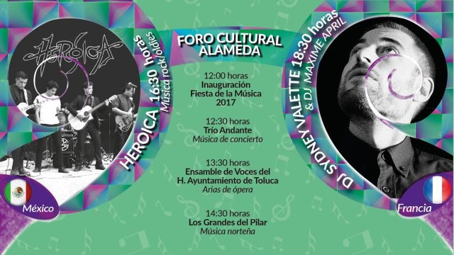 Prepara Toluca grandes sorpresas para la Fiesta de la Música 2017