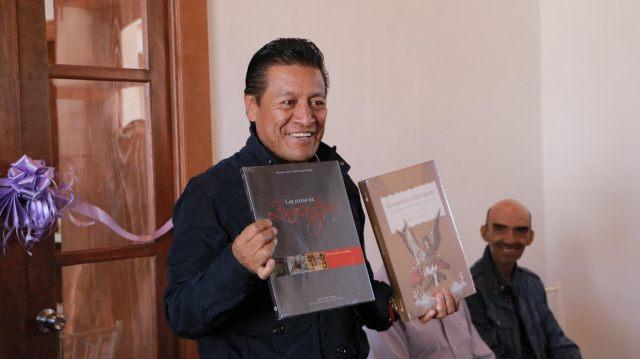 En Zinacantepec inauguran primera sala de lectura municipal del Edomex