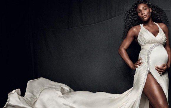Serena Williams presenta a su bebita Alexis