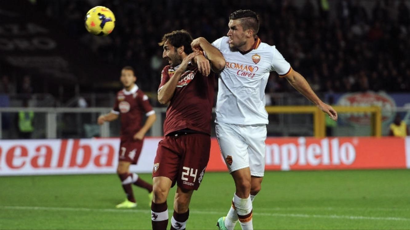 La Roma supera por la mínima al Torino