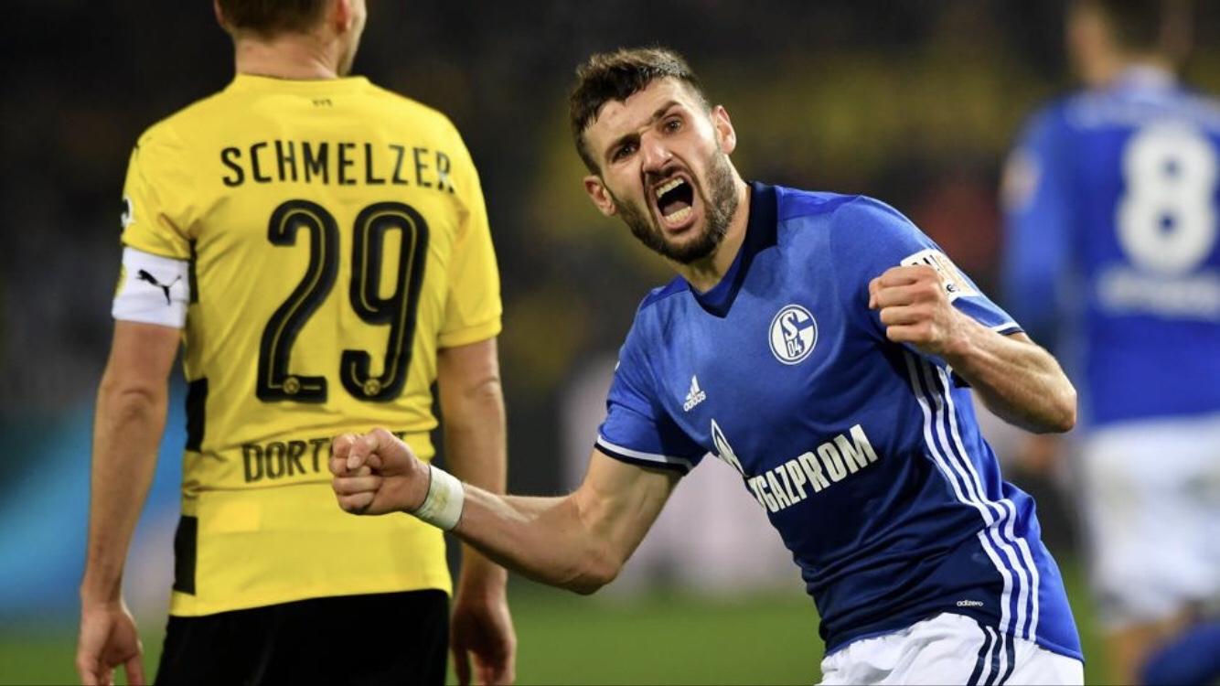 Locura en el derbi del Rühr: ¡el Schalke iguala un 4-0 al Borussia Dortmund!
