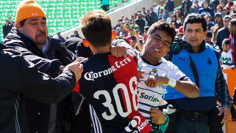 Final Sub-20 termina en campal y con título de Santos