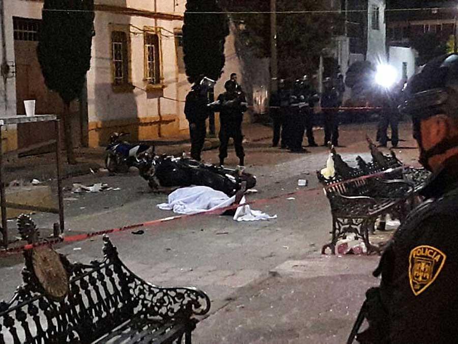 'Bailongo' termina con un muerto y un herido en Iztacalco