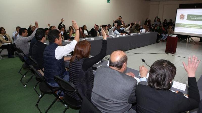 Acuerdan ciudadanos y autoridades de Metepec estrategia por la seguridad