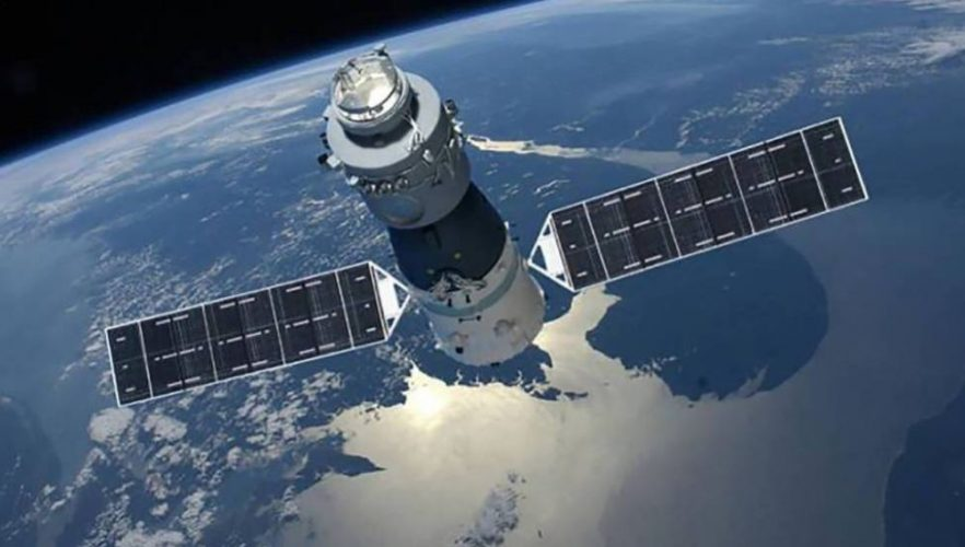 Estación espacial china caerá en llamas este fin de semana