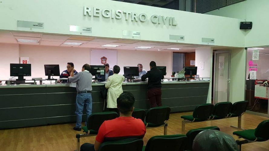 Retoma Registro Civil Operación En Oficinas De Toluca