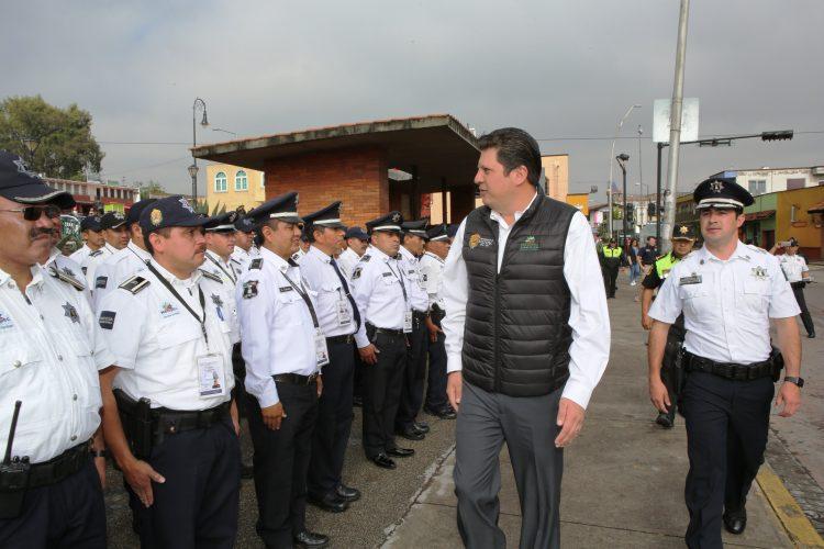 Continúan Operativos Coordinados De Seguridad En Metepec