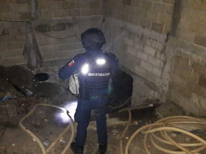 Hallan túnel huachicolero de 30 mts de profundidad en Toluca