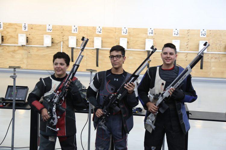 Domina Jalisco en tiro deportivo, rama varonil, en la Olimpiada Nacional 2018