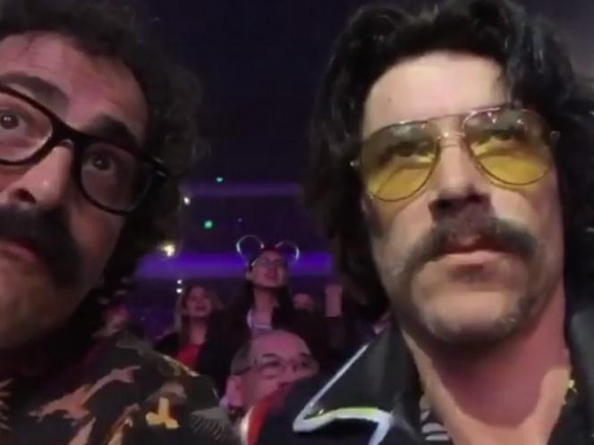 'Luisito Rey' y 'Tito' vieron a 'El Sol' de la vida real en concierto
