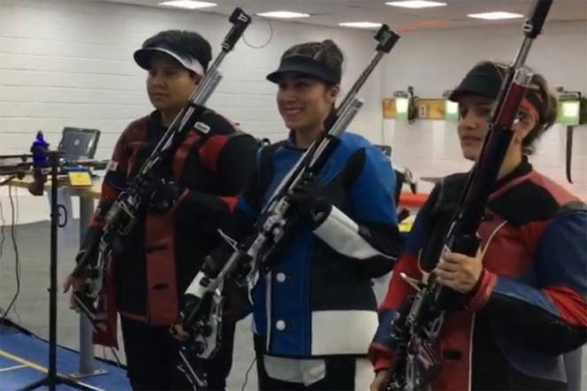Triple oro para México en tiro deportivo