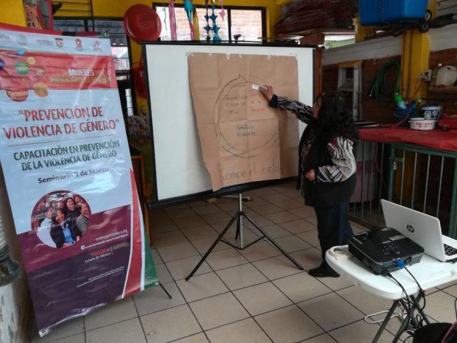 """Se suman mujeres del Seminario 2 de Marzo a la """"Red de Mujeres por la Prevención de la Violencia"""""""