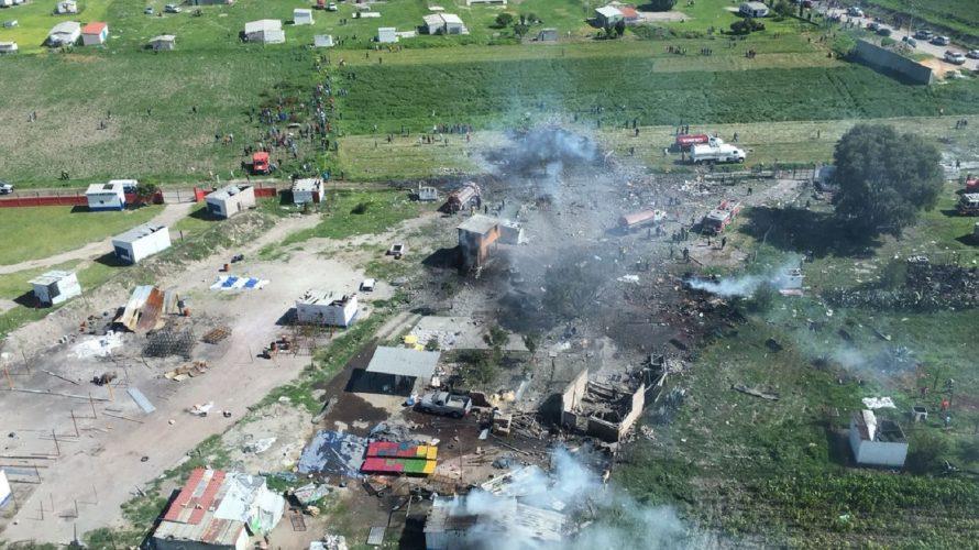 41 de los 54 pacientes ingresados a nosocomios tras explosión en Tultepec siguen hospitalizados