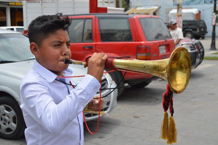 Niños con talento en Santa Ana Tlapaltitlán