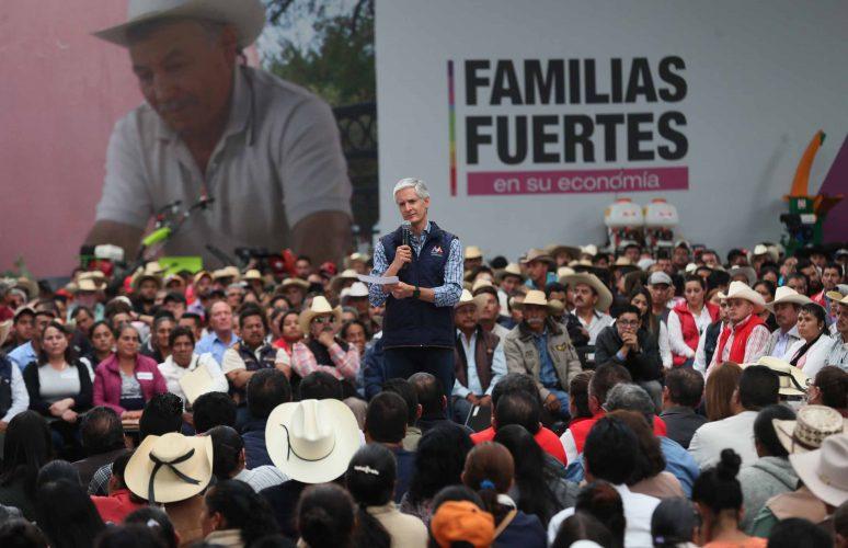 Permitirá denominación de origen del mezcal mexiquense una mejor comercialización: Alfredo Del Mazo