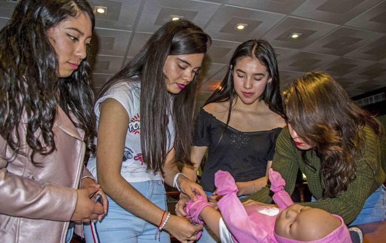 Talleres para fortalecer la prevención de embarazos en adolescentes