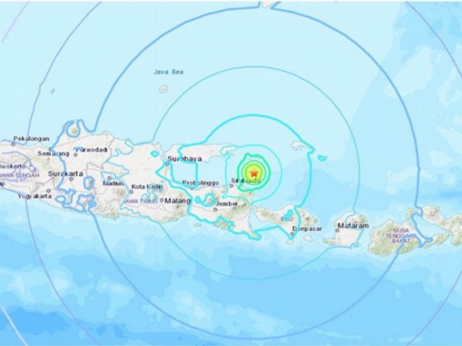 Tras sismo activan alerta de tsunami en Papua Nueva Guinea